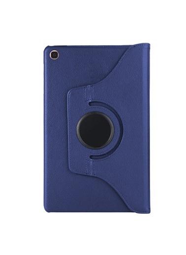 Microsonic Samsung Galaxy Tab S5e 10.5'' T720 Kılıf 360 Rotating Stand Deri Lacivert Lacivert